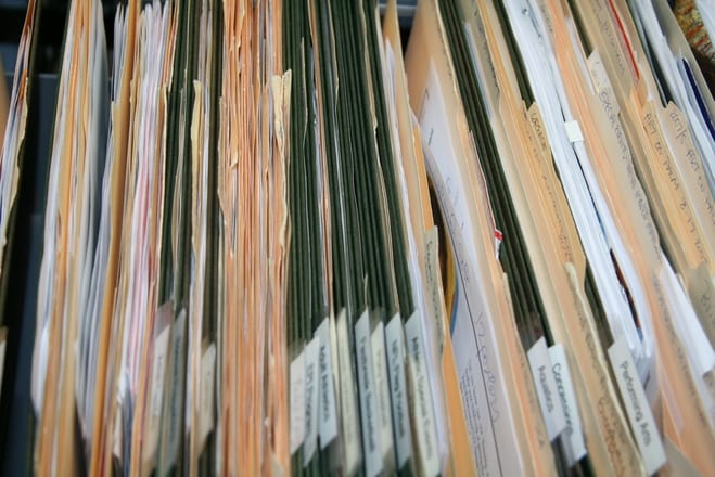 filing folders cabinet