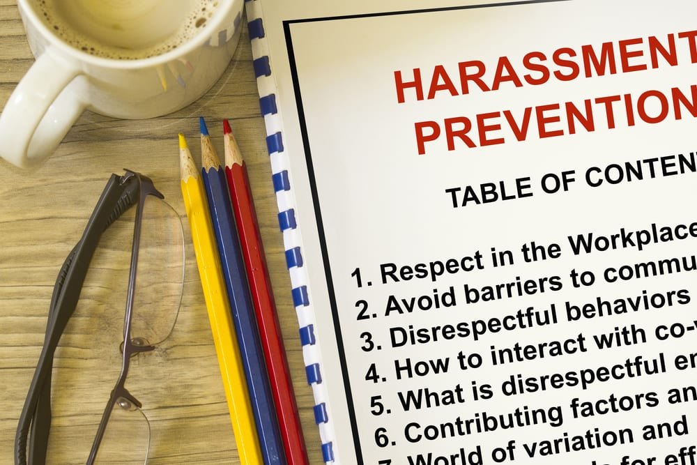 Harassment prevention document