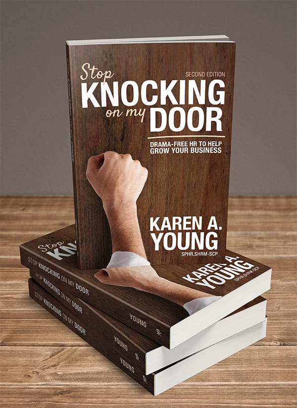 Book cover Stop Knocking at my Door